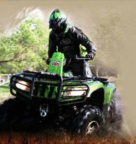 Thundercatwheeler on Arctic Cat Mud Pro 700 Review  Ready To Go Mud Atv From The Factory