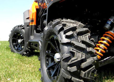 Wheels  Tire on Improve Looks Andperformance With Atv Tire And Wheel Combo Kits