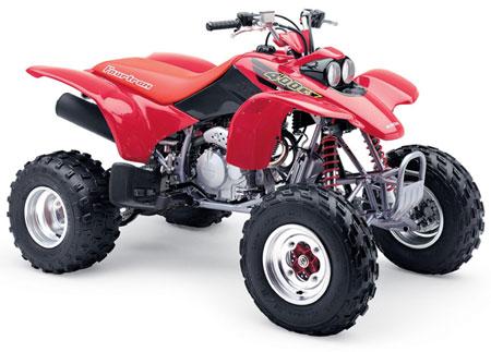Types Of Kawasaki Quads