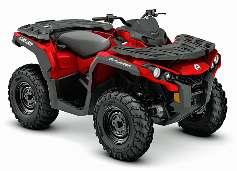 2019 Can Am Outlander front