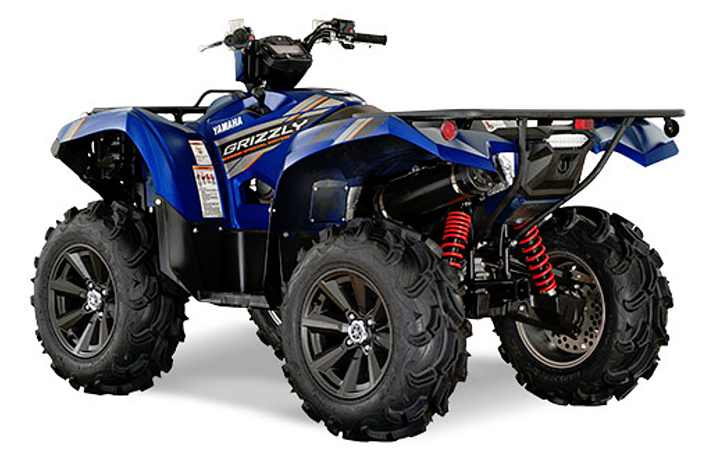 2019 yamaha grizzly eps se rear