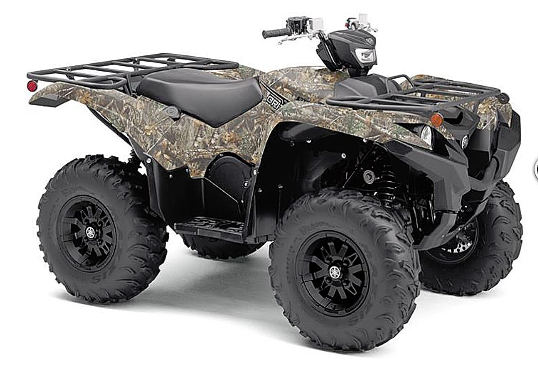 2019 yamaha grizzly camo