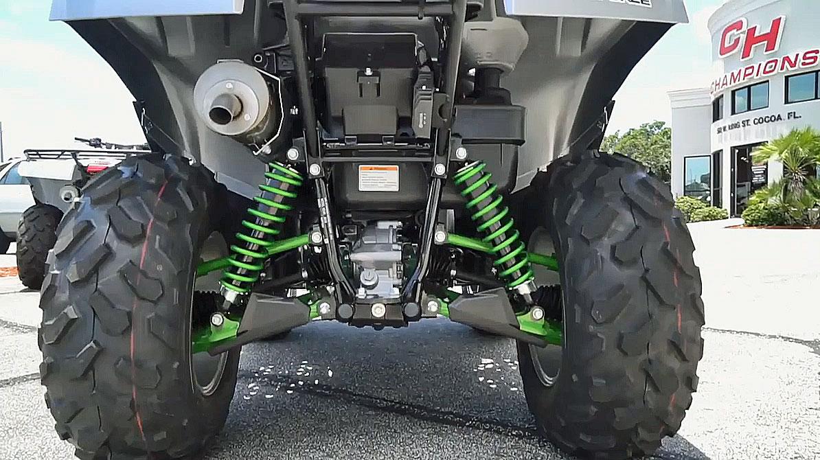 2019 kawasaki brute force 750 rear view