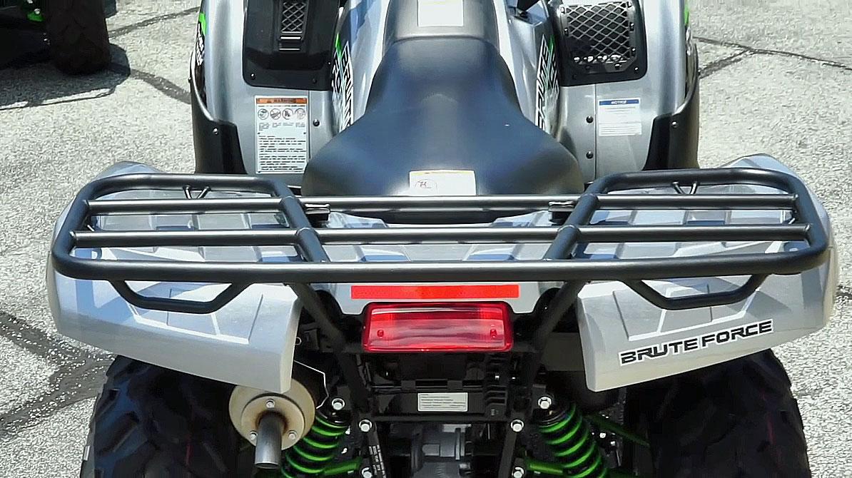 2019 kawasaki brute force 750 rear rack