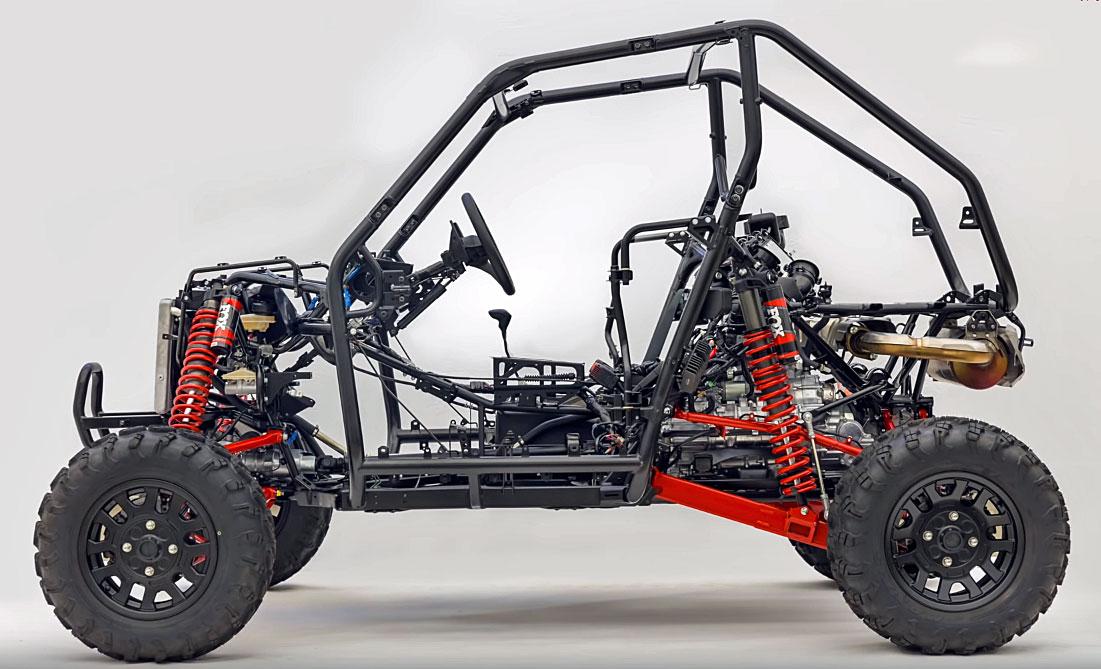 honda talon chassis