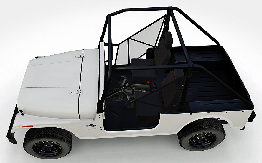 2019 mahindra roxor steel body