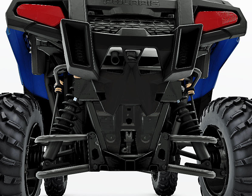 polaris ace 500 rear suspension