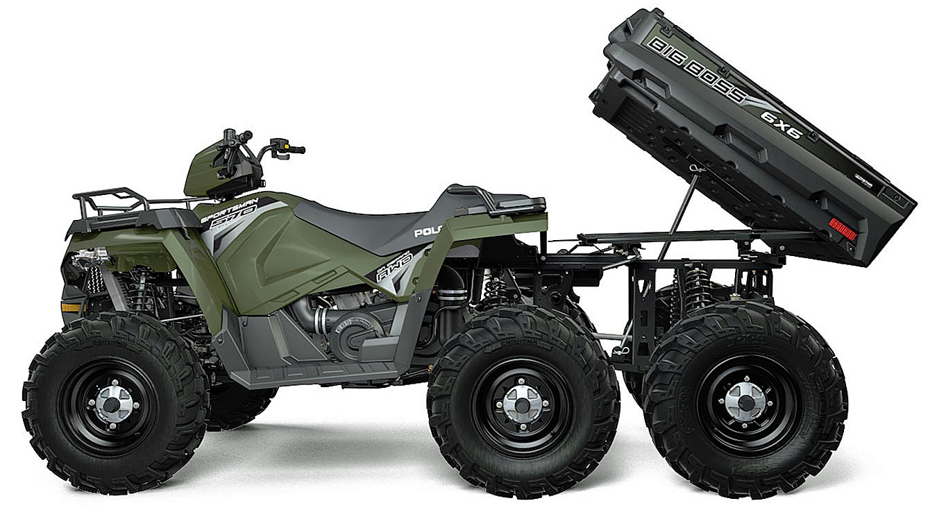 2019 Polaris Sportsman 570 6x6 green
