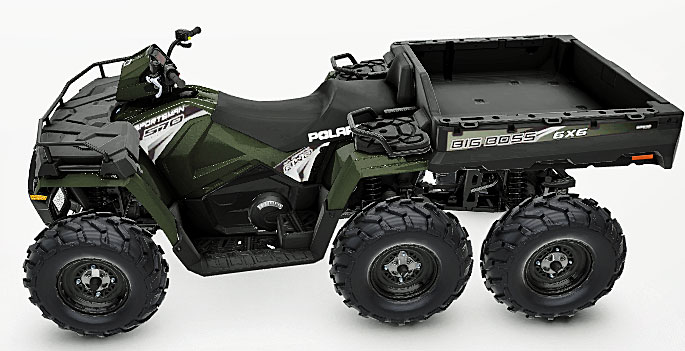 2019 Polaris Sportsman 570 6x6