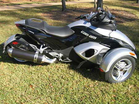Brp Can Am Spyder Roadster Street Legal Atv