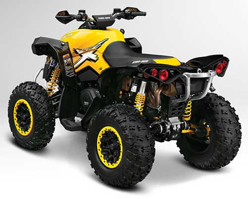 Can Am ATV Renegade Model Overview.