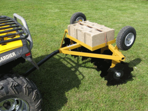 Lawn Tractor Disc : Utv and atv disc top tips for buyers