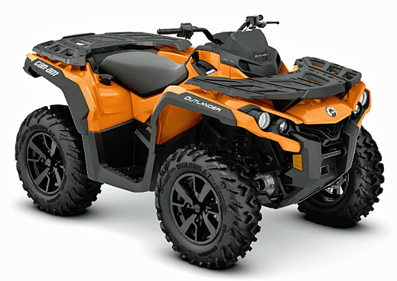 2019 Can Am Outlander dps front