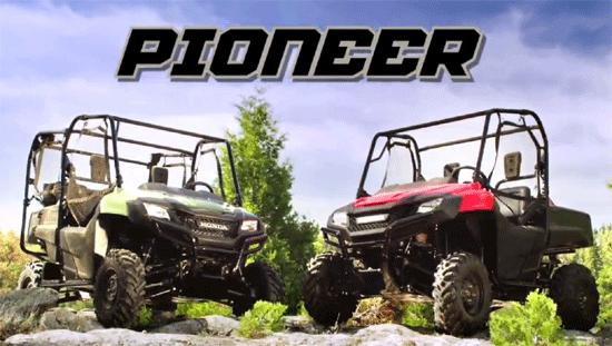 honda-pioneer-models