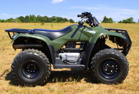 Used Mud Tires For Sale >> New Honda Recon ATV Review