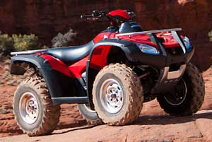New Honda Rincon Test and Review.