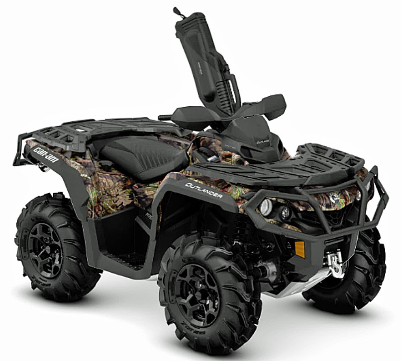 2019 Can Am Outlander hunting front