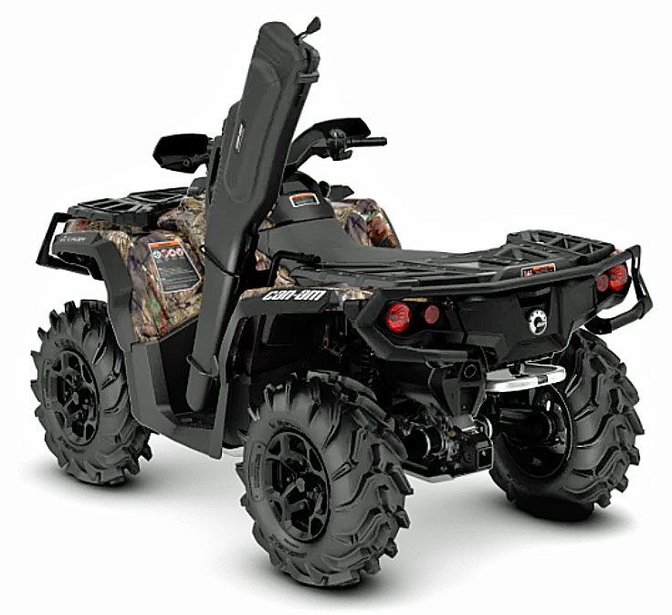 2019 Can Am Outlander hunting rear