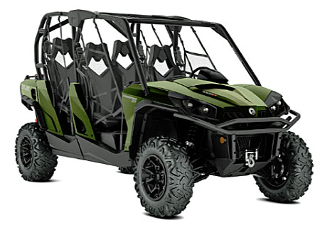 can am commander max xt front
