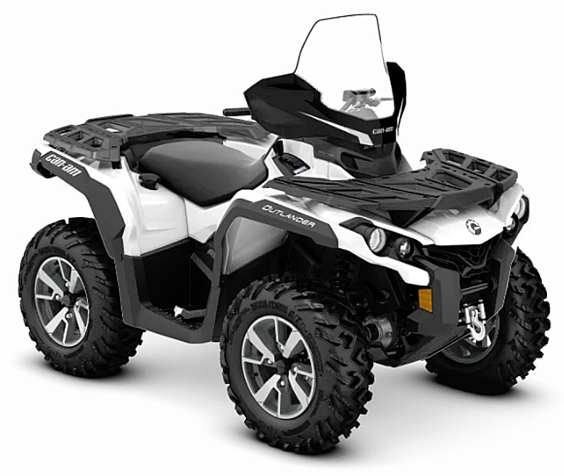 2019 Can Am Outlander north front