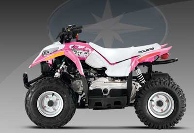 Used Honda Four Wheelers For Sale >> Polaris Outlaw 50 Youth ATV