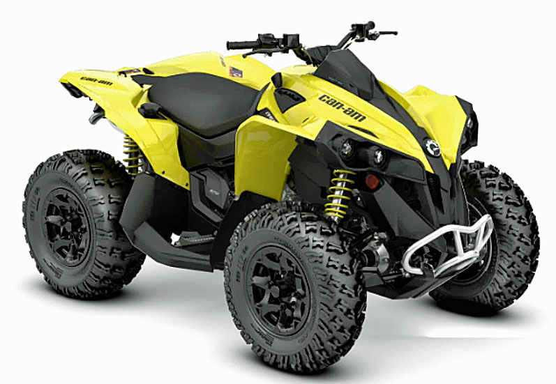 2019 can-am renegade front