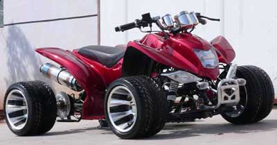 Fast Yamaha Four Wheeler