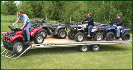 Atv Trailers Buyer S Guide