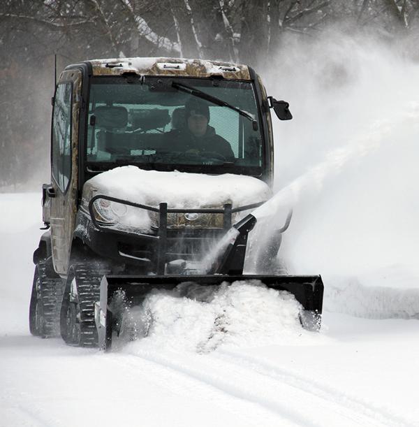 atv implements - utv snowblower