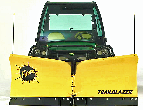 atv snow plow v blade straight