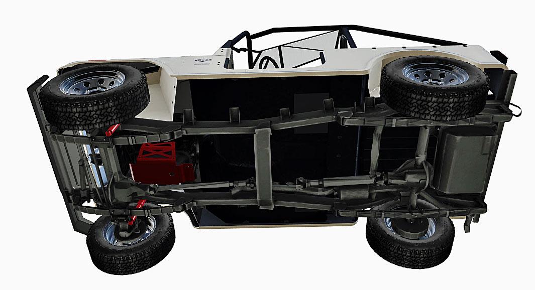 2019 mahindra roxor chassis
