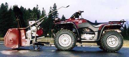 guide to atv snowblowers. Black Bedroom Furniture Sets. Home Design Ideas