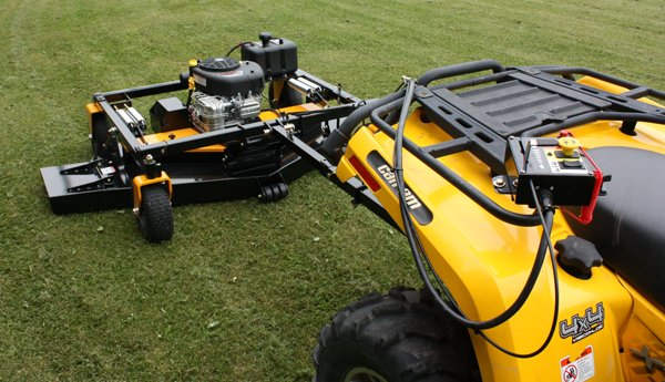 tow behind atv mowers