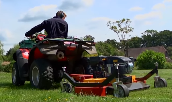 finish atv mowers