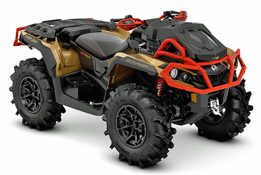 2019 Can Am Outlander xmr front