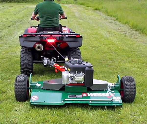 pull behind atv mowers