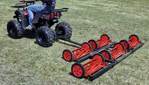 reel atv mowers