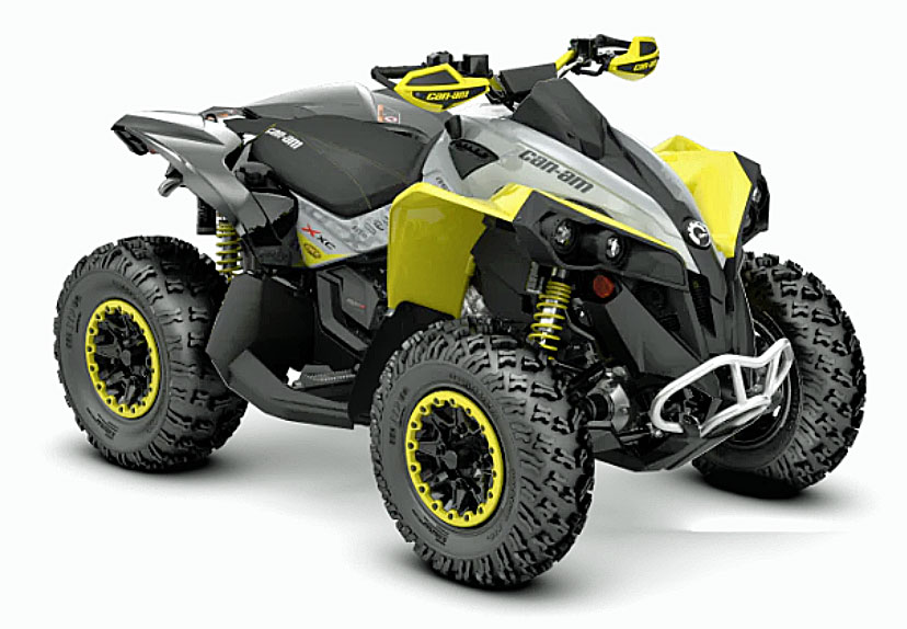 2019 can am renegade xxc front
