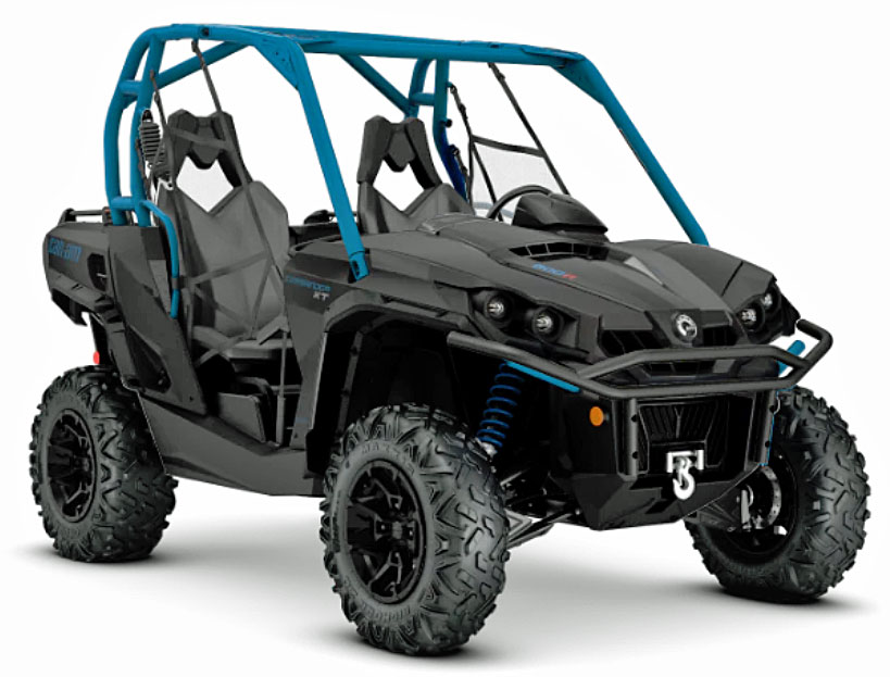 can am commander xt front