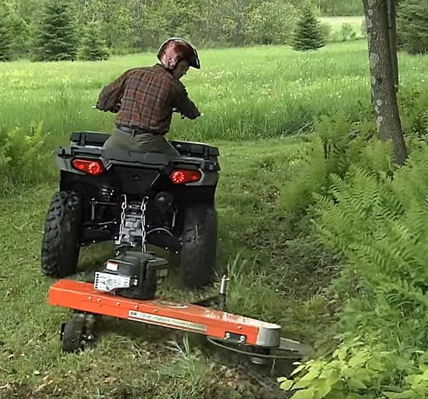 trimmer atv mowers