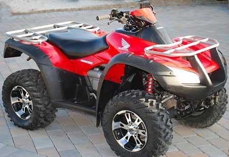 used-four-wheelers-honda