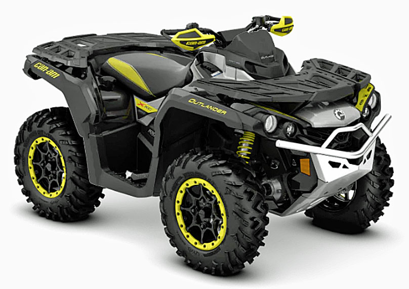 2019 Can Am Outlander xxc front