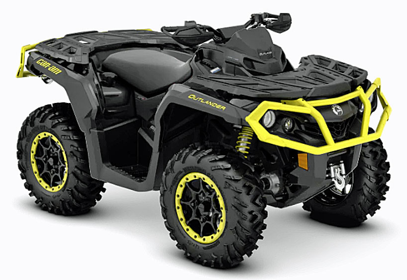 2019 Can Am Outlander xtp front