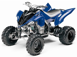 Yamaha kids four wheelers kids matttroy for Atv yamaha raptor 125cc